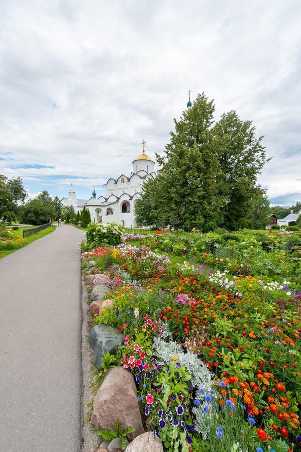 Монастырь заступничества в Suzdal стоковые изображения