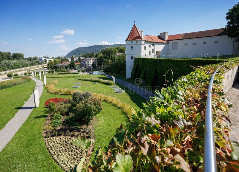 Монастырь Клостернойбурга в лете Нижняя Австрия, Европа стоковое фото rf