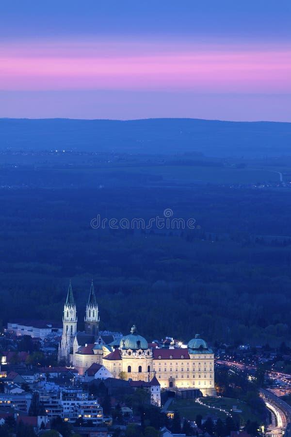 Монастырь Клостернойбурга стоковая фотография rf
