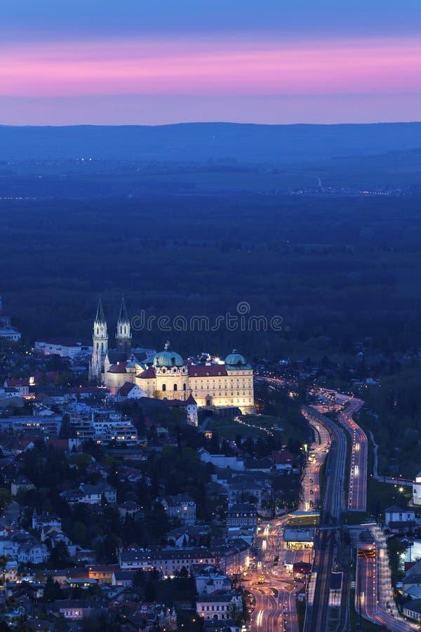 Монастырь Клостернойбурга стоковые фотографии rf