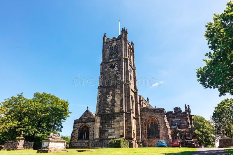 Монастырь Ланкастера, официально церковь монастыря St Mary стоковая фотография