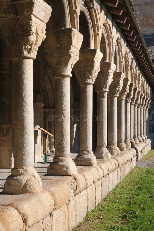 Монастырь Ла Seu de Urgell стоковая фотография rf