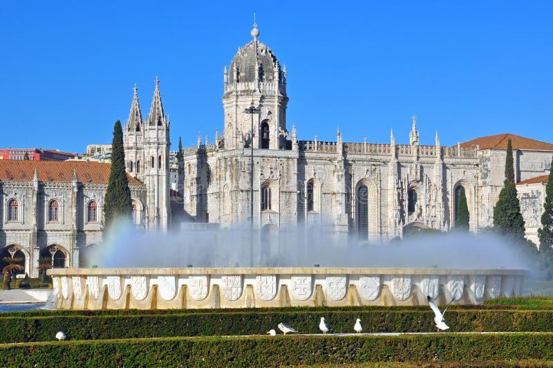 Монастырь Лиссабона стоковое фото rf
