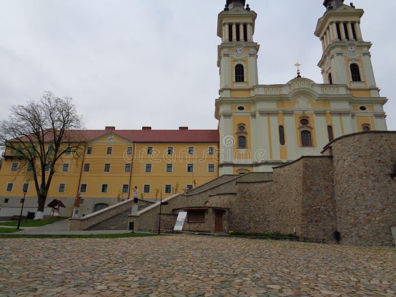 Монастырь Марии Radna францисканский - Румыния стоковые фото
