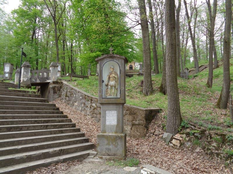 Монастырь Марии Radna францисканский - Румыния стоковая фотография