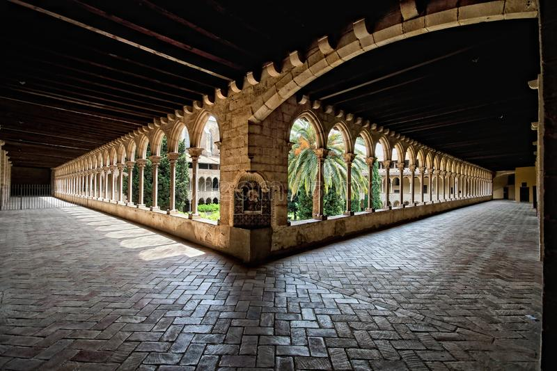 Монастырь монастыря Pedrables стоковая фотография rf