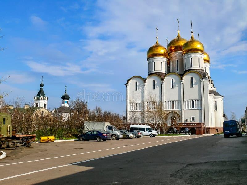 Монастырь святого монастыря Dormition, возникновения  стоковые фото