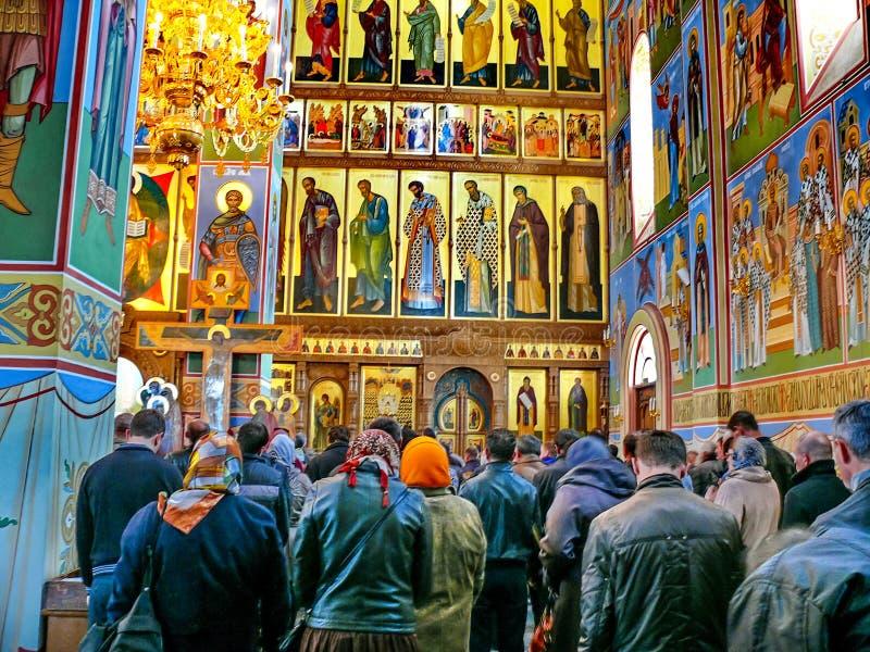 Монастырь святого монастыря Dormition, возникновения  стоковые изображения