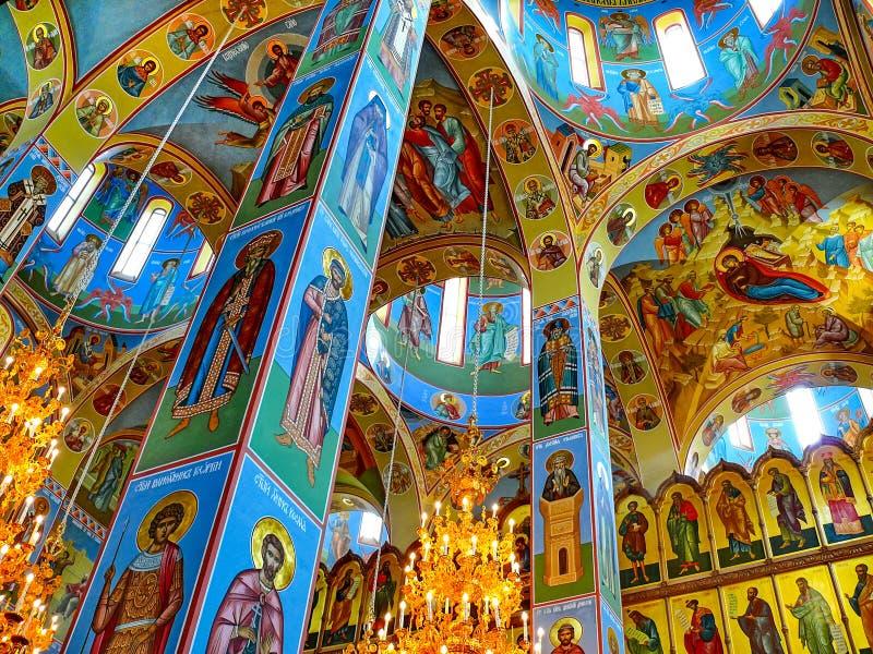 Монастырь святого монастыря Dormition, возникновения  стоковое изображение