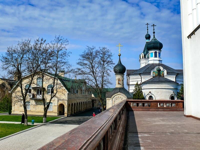 Монастырь святого монастыря Dormition, возникновения  стоковые фотографии rf