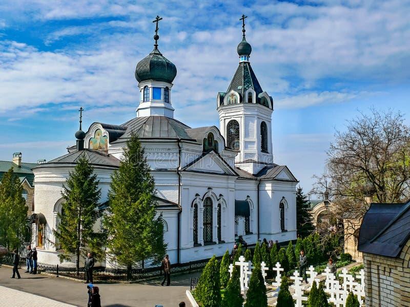 Монастырь святого монастыря Dormition, возникновения  стоковое фото rf