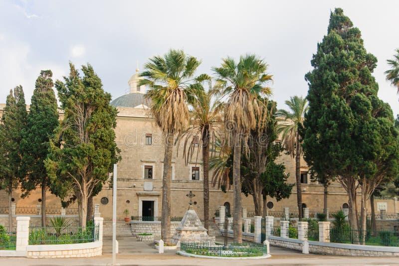 Монастырь Стеллы Maris Carmelite стоковое изображение