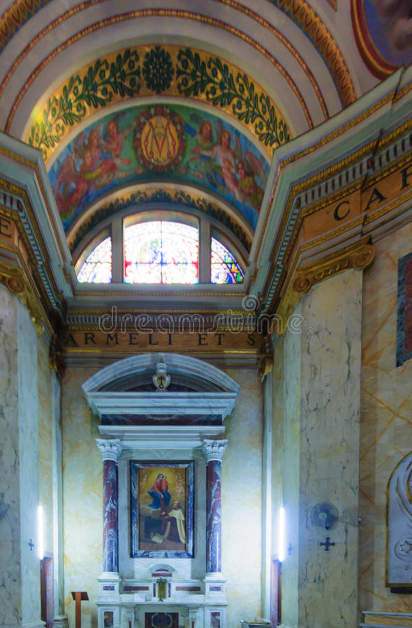 Монастырь Стеллы Maris Carmelite стоковые изображения