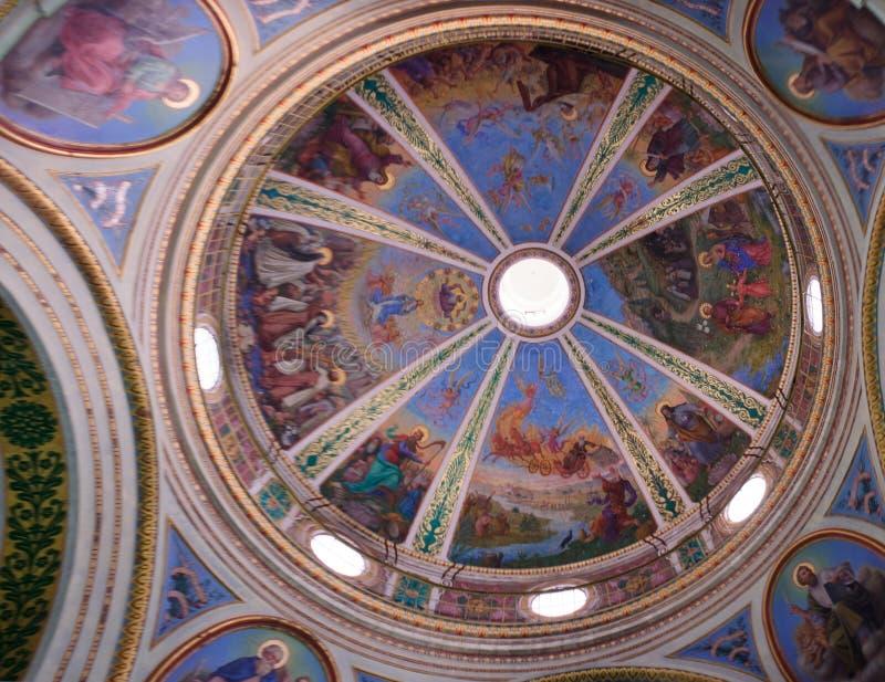 Монастырь Стеллы Maris Carmelite стоковые изображения rf