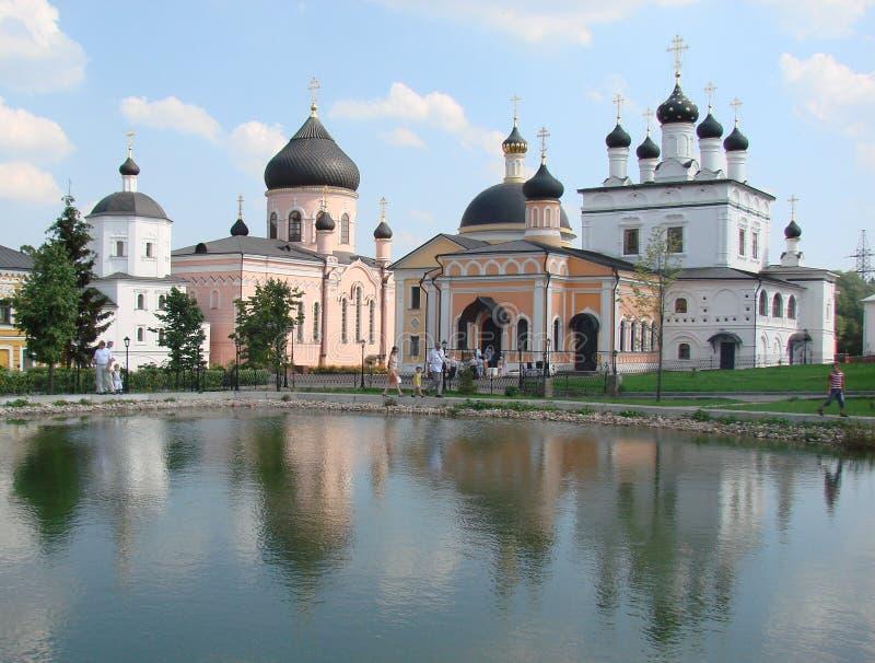 Монастырь церков стоковое изображение rf