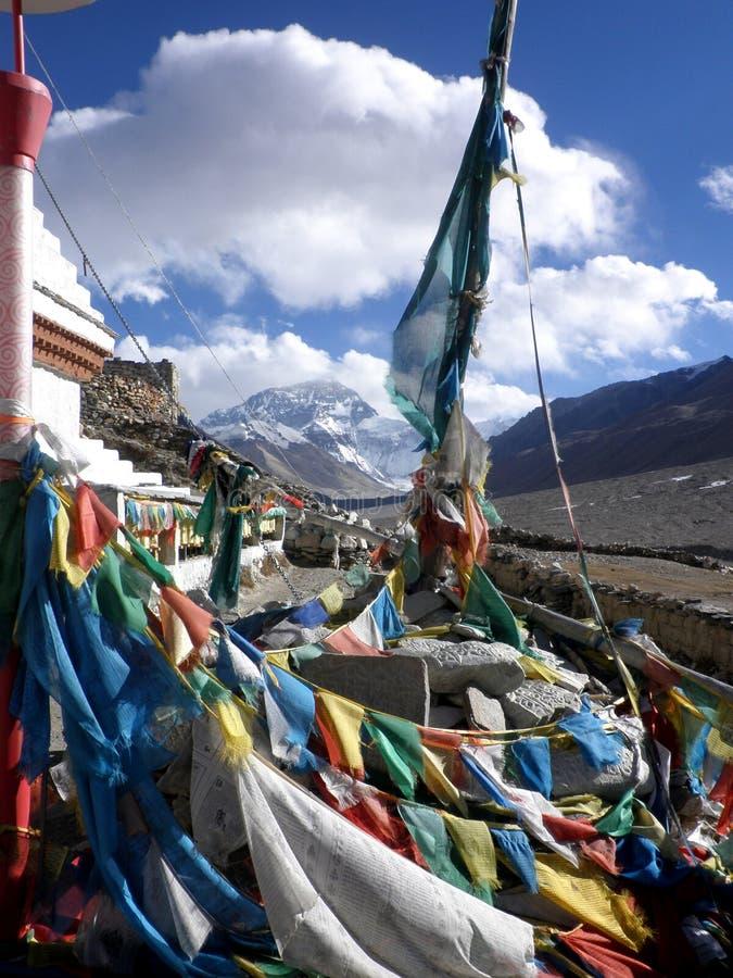 Монастырь Эвереста стоковые фотографии rf