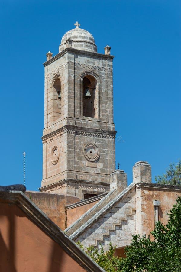 Монастырь Agia Triada в Крите, Греции стоковое фото rf