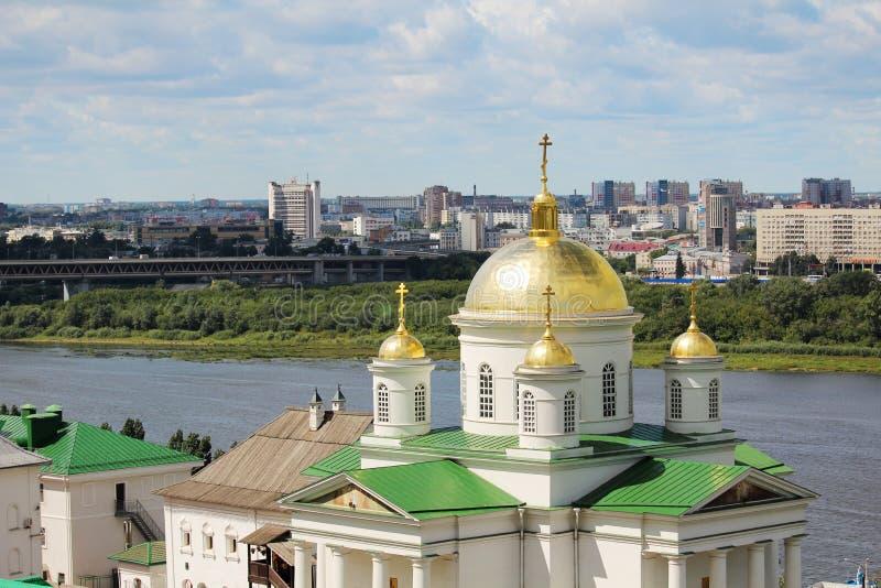 Монастырь Blagoveschensky, Nizhny Novgorod стоковые изображения rf