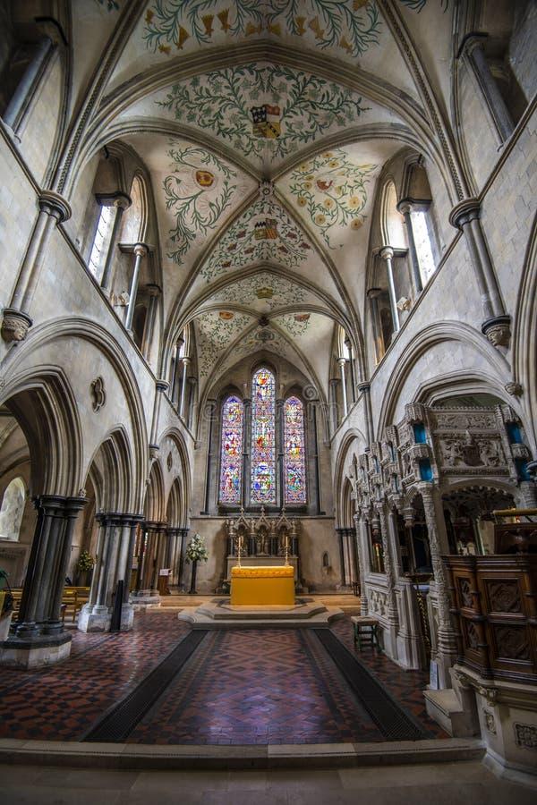 Монастырь Boxgrove, Чичестер, западное Сассекс, Англия стоковые изображения rf