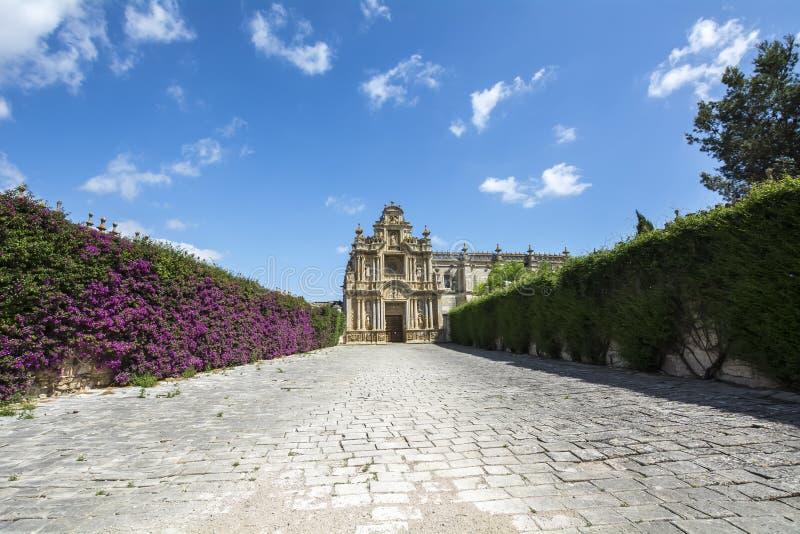 Монастырь Cartuja, Ла Frontera Jerez de, Испания (Charterhouse) стоковая фотография