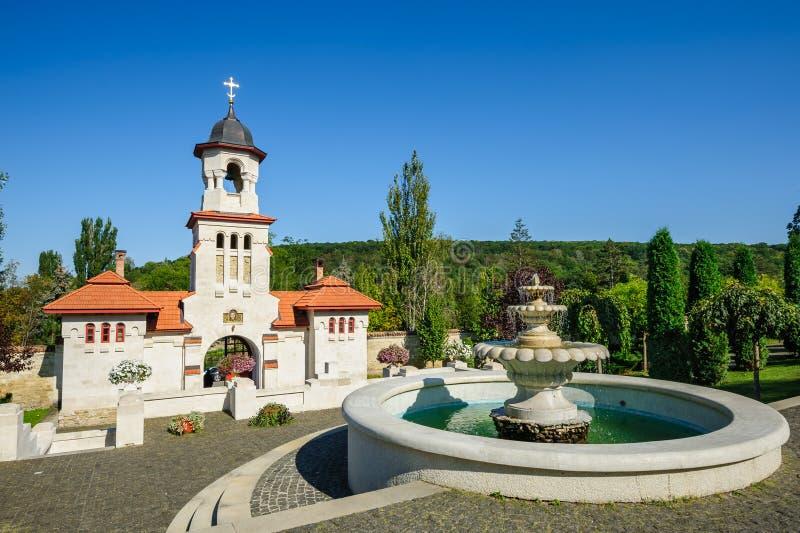 Монастырь Curchi правоверный христианский, Молдавия стоковые изображения rf