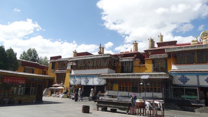Монастырь Drepung, Лхаса стоковые изображения rf