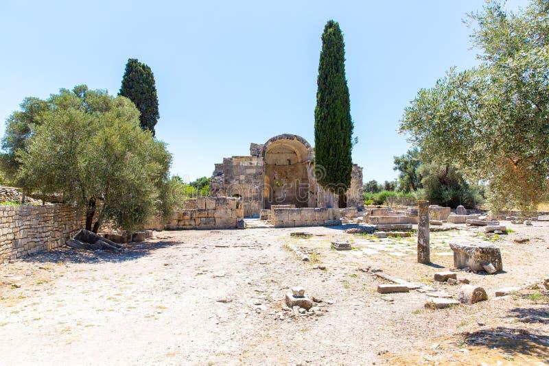 Download Монастырь (friary) в долине Messara на острове Крита в Греции. Стоковое Изображение - изображение насчитывающей христианство, дом: 37925015