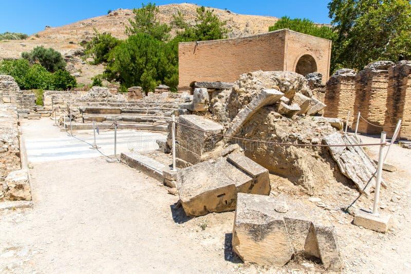 Download Монастырь (friary) в долине Messara на острове Крита в Греции. Стоковое Фото - изображение насчитывающей остров, крит: 37925018