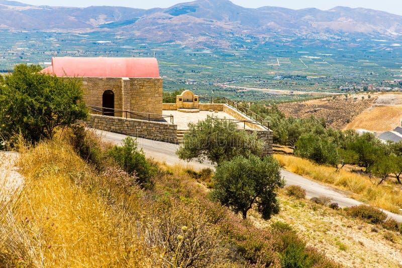 Download Монастырь (friary) в долине Messara на острове Крита в Греции. Стоковое Фото - изображение насчитывающей крит, культура: 37925328