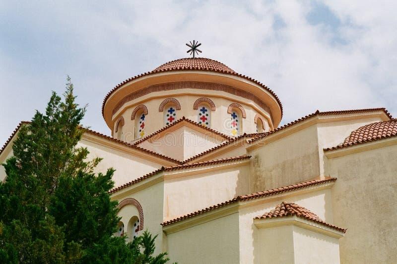 Монастырь Gerasimos Святого в Kefalonia, Греции стоковая фотография rf