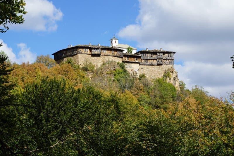 Монастырь Glozhene стоковые фотографии rf