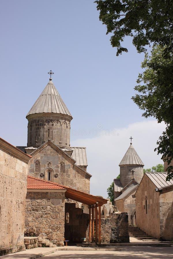 Монастырь Haghartsin (Армения) стоковое изображение rf