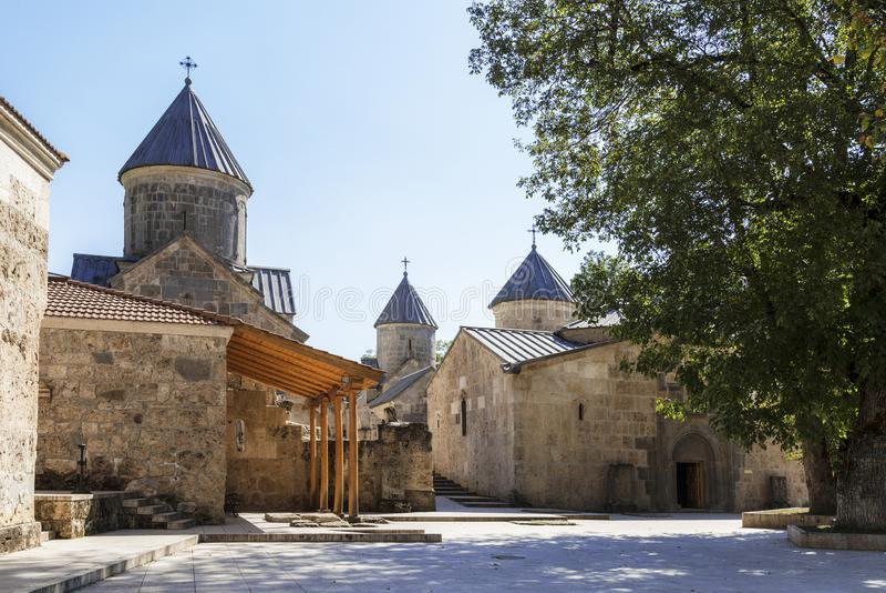 Монастырь Haghartsin в области Тавуша Армении стоковые изображения
