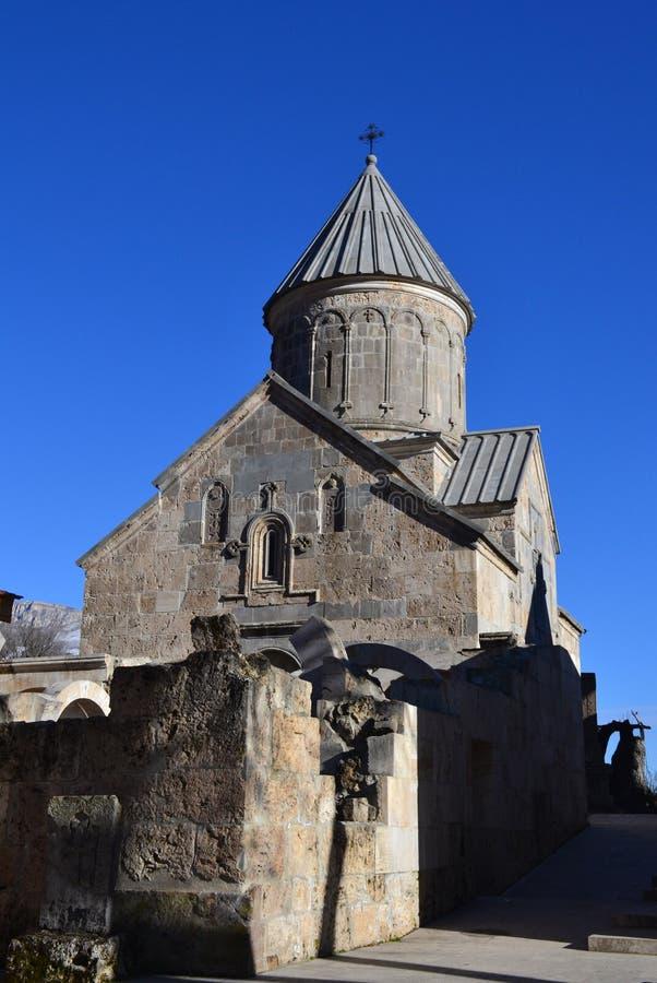 Монастырь Haghartsin в Dilijan, Армении стоковые изображения