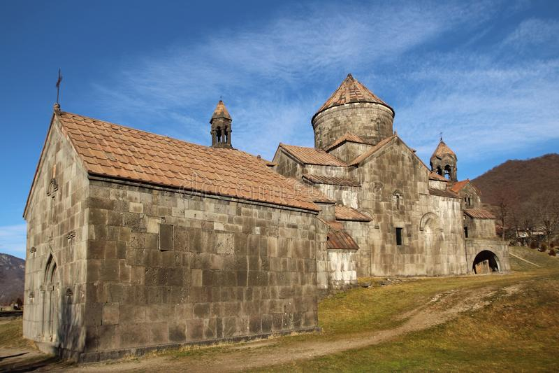Монастырь Haghpat или Haghpatavank, Армения стоковые изображения
