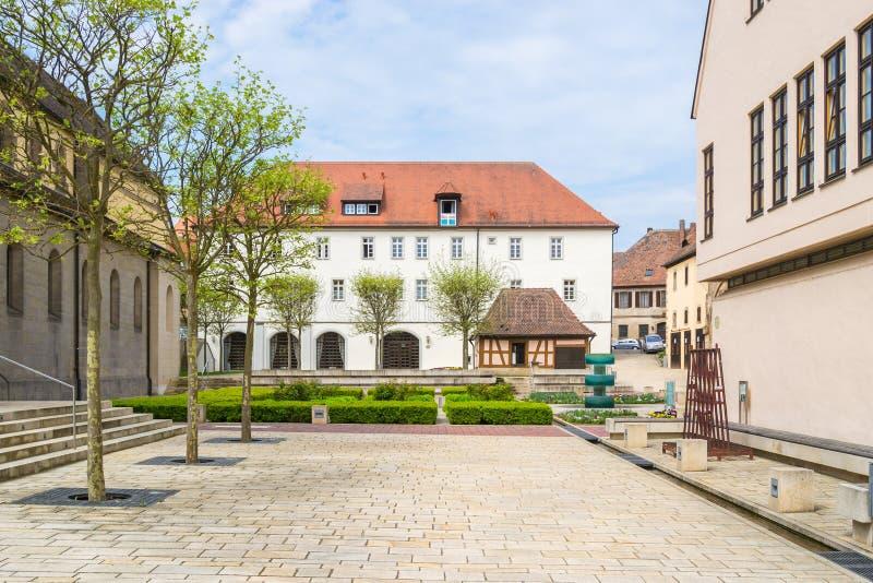 Монастырь Heilsbronn, Германия стоковое фото rf