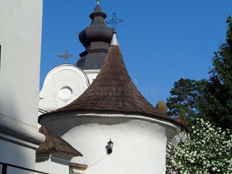 Монастырь Hodos-Bodrog стоковые изображения