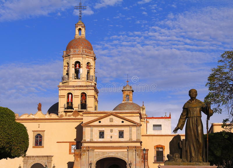 Монастырь i Santa Cruz стоковые изображения rf