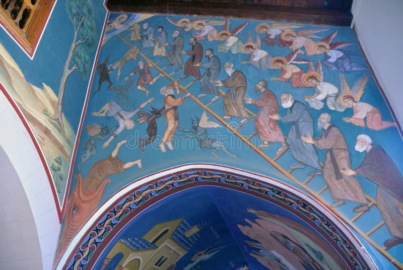Монастырь Kykkos, Кипра стоковое изображение rf