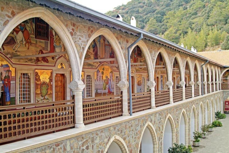Монастырь Kykkos - Troodos, Кипр стоковые фотографии rf