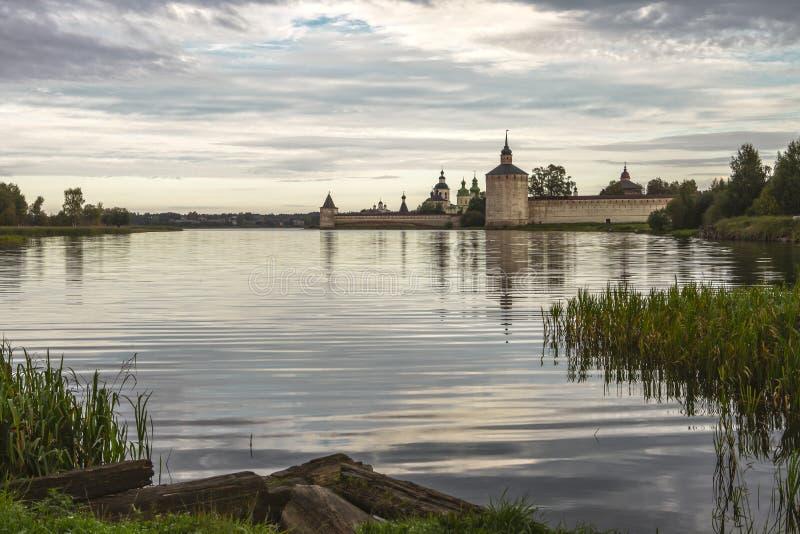 Монастырь Kyrill-Belozersky стоковое фото rf