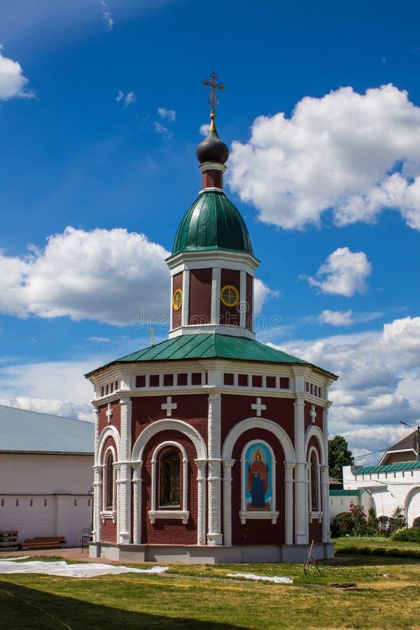 Монастырь Murom Spaso-Preobrazhensky, Россия стоковые изображения rf