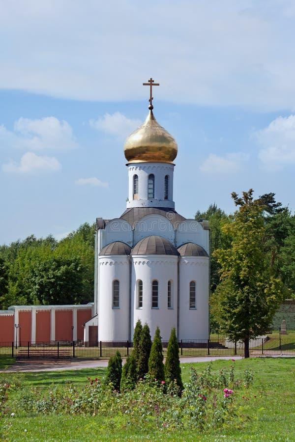 Монастырь Nikolo-Ugreshsky в Dzerzhinky зима России зоны открытки kremlin moscow dmitrov собора предположения стоковое фото rf