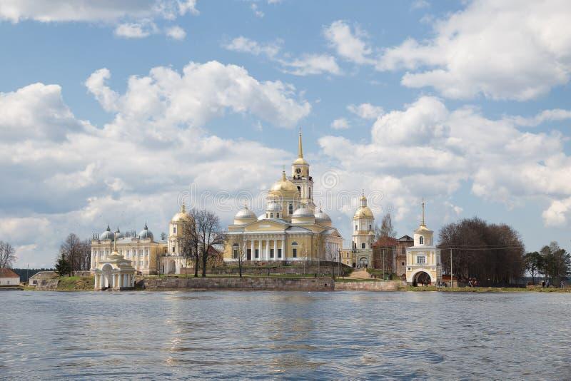 Монастырь Nilo-Stolobensky, Россия стоковое изображение