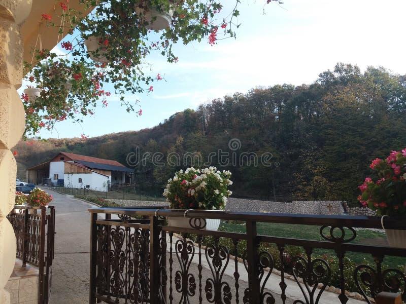 Монастырь Nimnik стоковые изображения rf