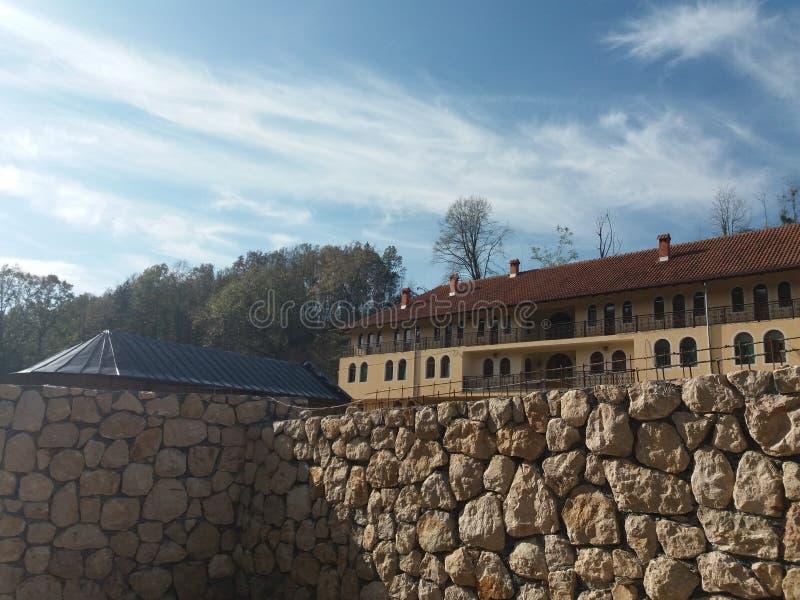 Монастырь Nimnik стоковая фотография