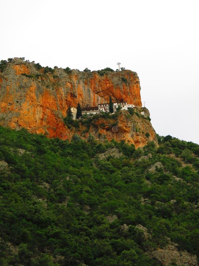 Монастырь Panagia Elona в Kosmas стоковое изображение