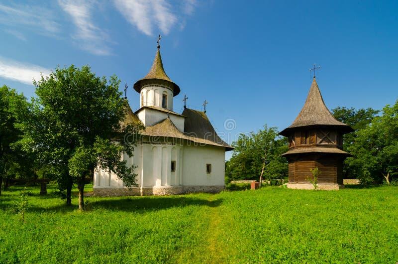 Монастырь Patrauti в Suceava, Румынии стоковые фото