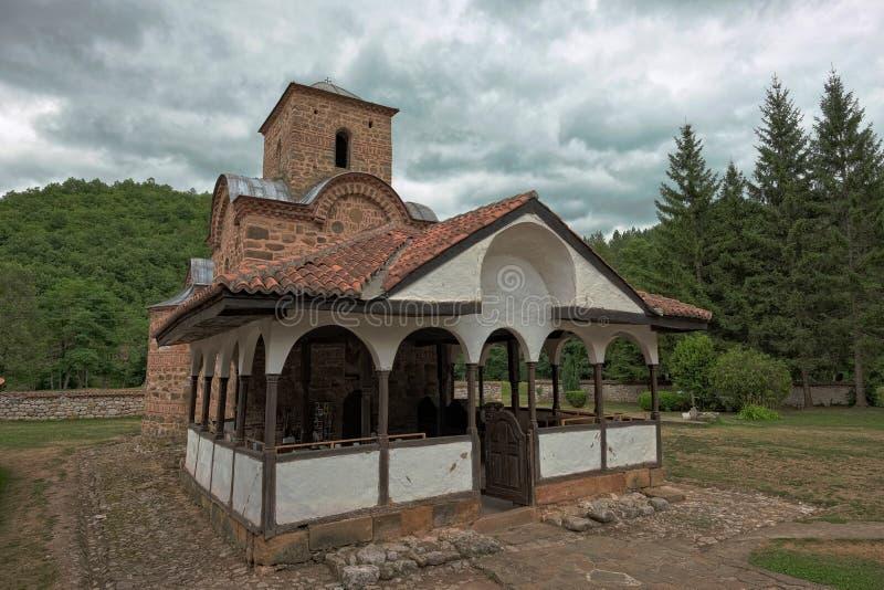 Монастырь Poganovo, Сербия стоковое фото