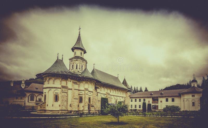 Монастырь Putna правоверный в Румынии стоковая фотография